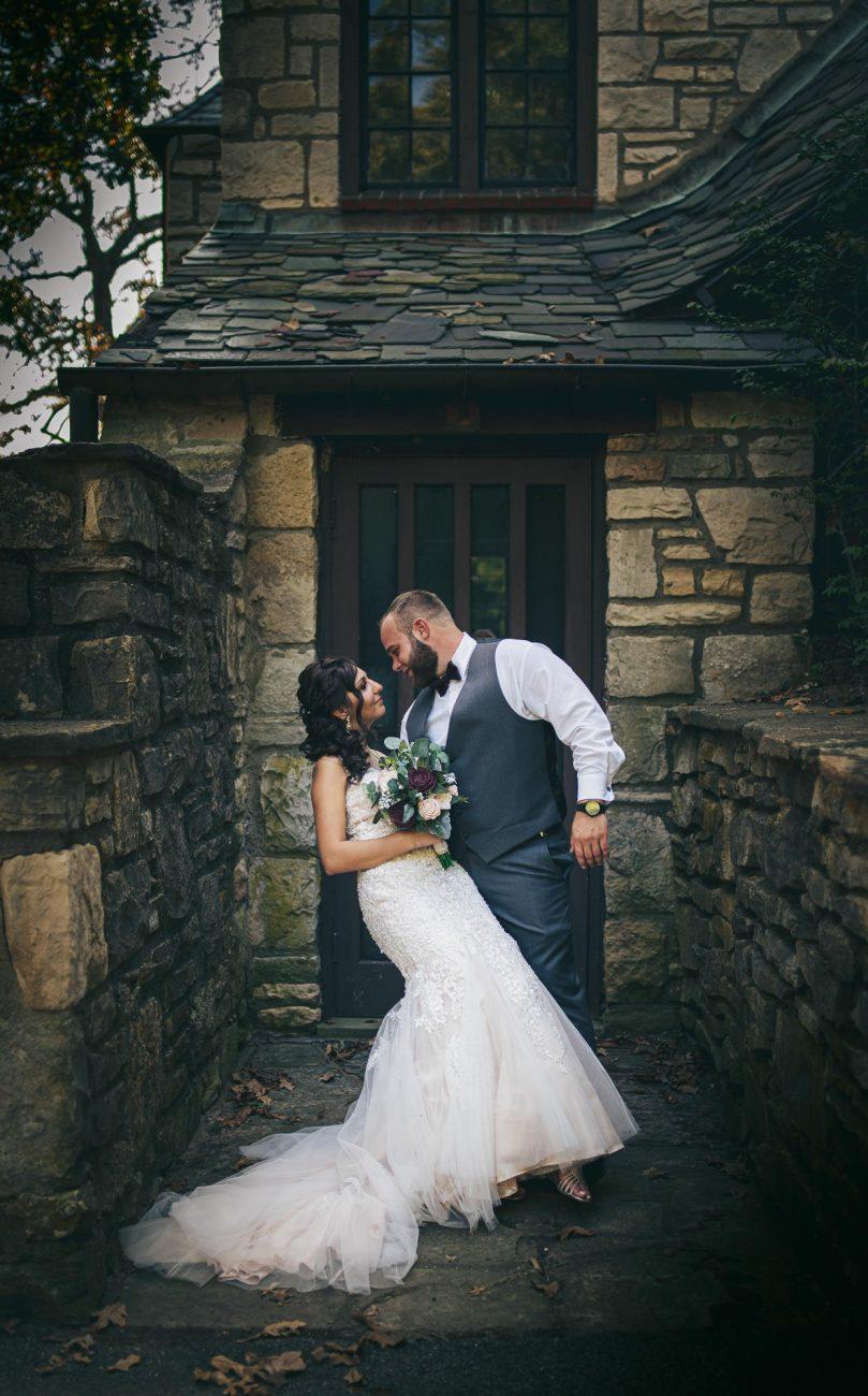Bee Tree Park wedding images